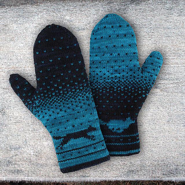 Ravelry Yuma Double Knitting Mittens Pattern By Alexandra Wiedmayer