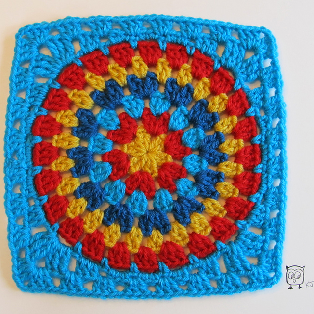 Ravelry: Squaring the Big Circle pattern by Kate Jenks
