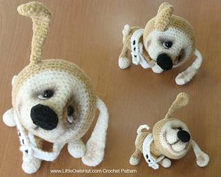 Amigurumi Dog Crochet Patterns : Ravelry: 022 puppy dog pattern by littleowlshut