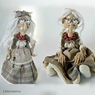Free Amigurumi Witch Pattern : Ravelry: 081 Charming witch Amigurumi pattern by LittleOwlsHut