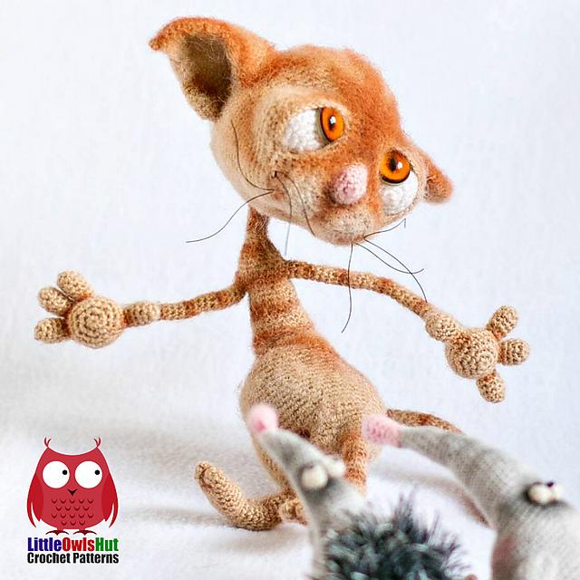 Ravelry 129 Dobby The Sad Cat Pattern By Littleowlshut