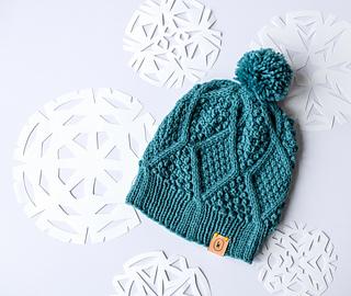 db6f8204c72 Ravelry  January Hat pattern by Courtney Kelley