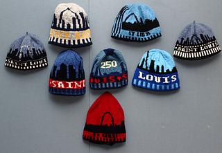 Ravelry  St. Louis  250th Birthday Skyline Hat pattern by Joan Rangel e34daea66af