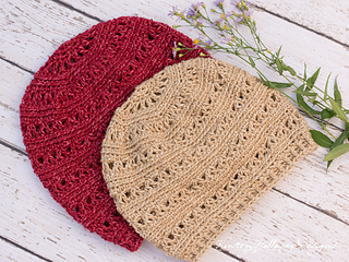 94bdbb802 Very Slouchy V-Stitch Hat pattern by Kirsten Holloway