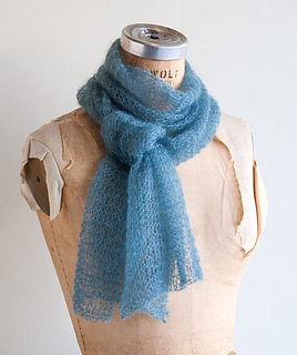 Ravelry: Whisper Scarf pattern by Kitterly Kits