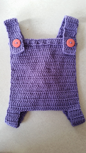 Ravelry: Toy/Doll baby carrier pattern by Addicted 2 The Hook