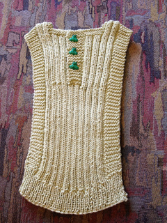 Ravelry Strikket Babyvest Knitted Baby Vest Pattern By Mette