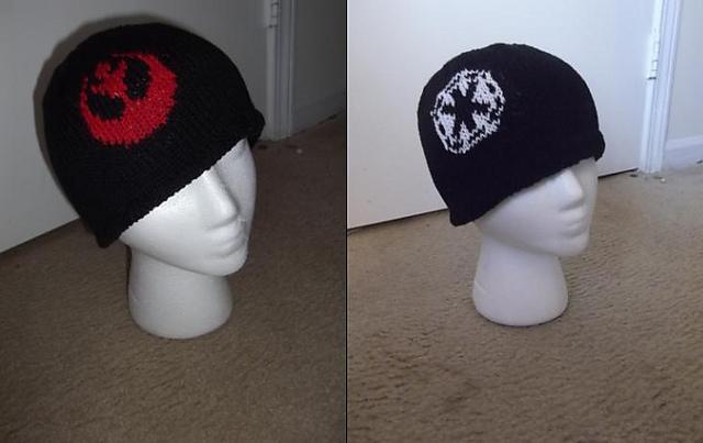 Ravelry Star Wars Flip Hat Pattern By Cj Hooker