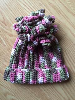 Ravelry Delaney Hat Spiral Beanie Pattern By Danyel Pink
