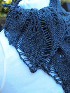 Drop Leaf Knitting Pattern : Ravelry: Drop Leaf Scarf pattern by Grace Mcewen