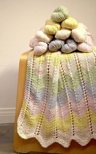 Ravelry Zig Zag Baby Blanket Pattern By Knitculture