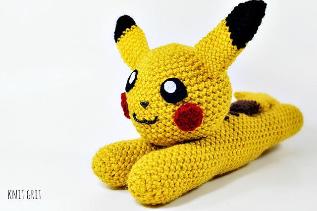 Ravelry Pokemon Flat Pikachu Amigurumi Pattern By Codi Hudnall