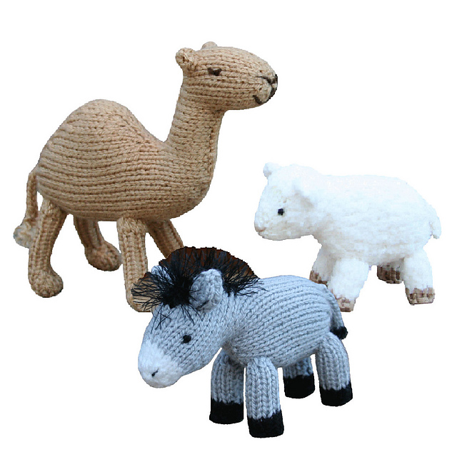 Ravelry: Christmas Nativity Animals pattern by Sarah Gasson