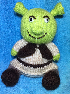 Ravelry  Shrek Choc Orange Cover   Toy pattern by Mary Lucas dbb6bdc765d
