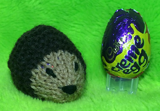 Ravelry Hedgehog Creme Egg Easter Cover Pattern By Mary Lucas