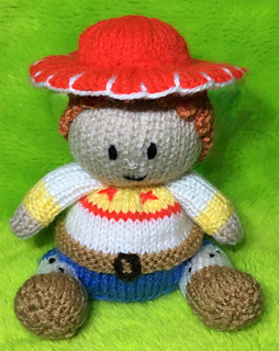 Knitting Pattern Toy Story Characters : Ravelry: Toy Story Jessie Choc Orange Cover / Cowgirl Toy pattern by Mary Lucas