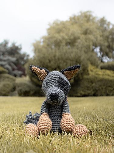 Ravelry Cheryl The Australian Cattledog Pattern By Kerry Lord