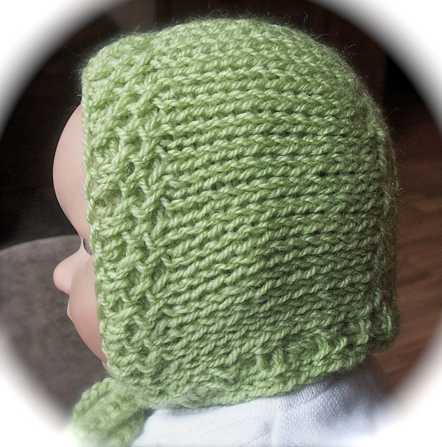 Ravelry: Loom Knit Baby Bonnet pattern by Faith Schmidt