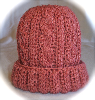 Ravelry Loom Knit Cabled Baby Hat Pattern By Faith Schmidt