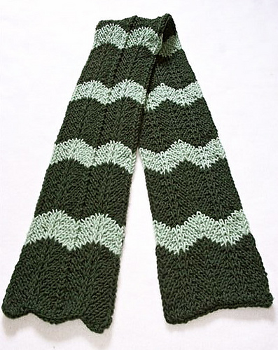 Ravelry Loom Knit Chevron Scarf Pattern By Faith Schmidt