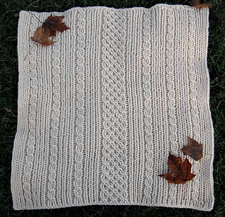 Ravelry Loom Knit Easy Aran Baby Blanket Pattern By Faith