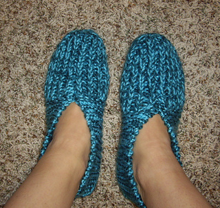1b31952c33a Ravelry  Grandma s Knitted Slippers pattern by Zanne