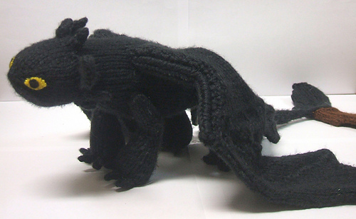 Ravelry Toothless Pattern By Mari Campbell