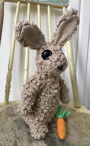 Ravelry Furry Beast Bunny Pattern By Sonja Hood Knot Yourself Out