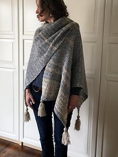 Ravelry: Easy-Breezy Crochet Ruana pattern by Sonja Hood ...