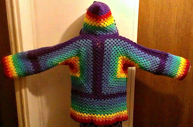 Ravelry: Hexagonal Hooded Cardigan pattern by Celeste Wood