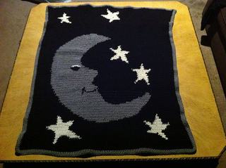 Ravelry Night Sky Afghan Pattern By Lion Brand Yarn
