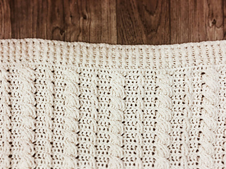 Ravelry Cabled Wedding Blanket Pattern By Kozy Threads
