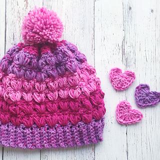 e3b38595f65 Ravelry  Little Sweetheart Valentine s Day Hat pattern by Lace Kennedy  Crochet