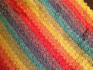 Ravelry: Corner to Corner C2C Corner Start Tutorial pattern