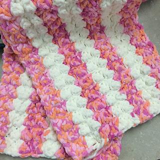 Ravelry Marshmallow Crochet Baby Blanket Pattern By