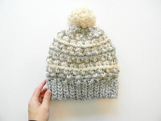 9420d32c Ravelry: Flurries Fair Isle Hat pattern by Justyna Srock