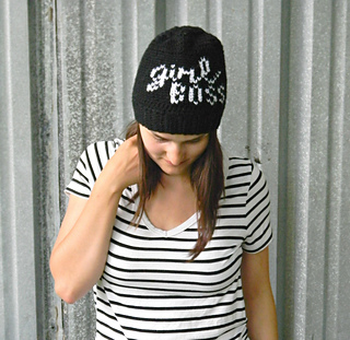 0b06c636 Ravelry: Girl Boss Beanie pattern by Justyna Srock