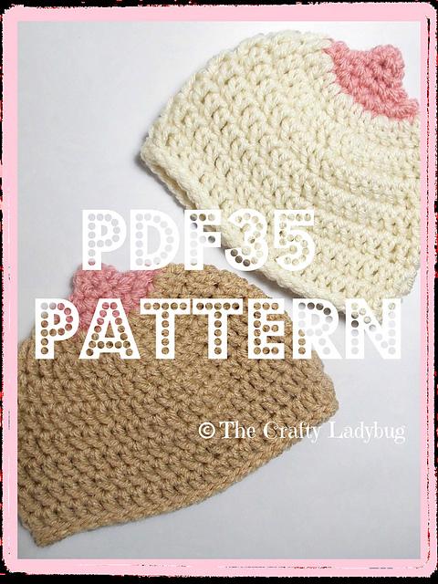 66ab8b3e363 Ravelry  Boobie beanie hat pattern by Lagatha Been