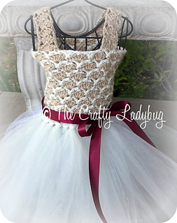 Ravelry: Crochet and tulle tutu dress III pattern by ...