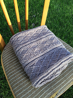 Ravelry: Guernsey Style Baby Blanket pattern by Kate McDaid