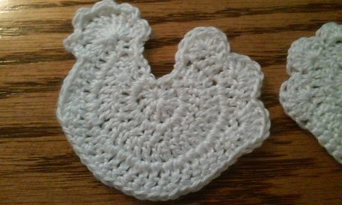 Ravelry Crochet Chicken Ornament Pattern By Laura J