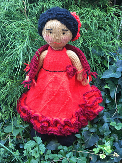 Ravelry Rosa Maria The Spanish Dancer Pattern By Magdalaine