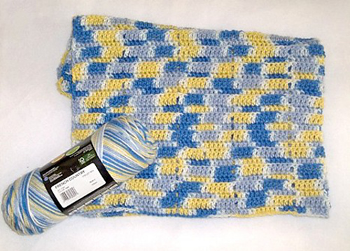 Ravelry: Easy Peasy Baby Blanket pattern by Marie Anne St. Jean