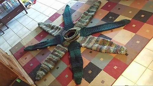 Octopus Tentacle Blanket ... & Ravelry: Leah Mooreu0027s Ravelry Store - patterns