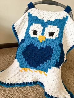 Ravelry Little Owl Car Seat Canopy Pattern By Megan Meyer