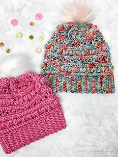 70c701a55 Love Bug Slouchy Hat pattern by Megan Meyer