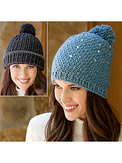 bf0694f3bb5 Ravelry  Bling Beanies pattern by Lena Skvagerson