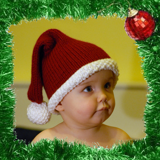 Ravelry  Santa Baby Hat pattern by Lena Swan 1aeb252369b