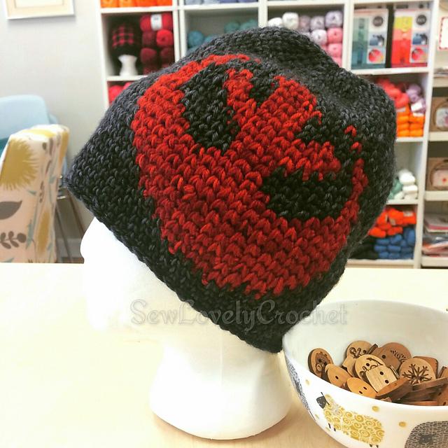 4fa3d9b3310 patterns   Three Sticks Designs Ravelry Store.   Star Wars Rebel Alliance  Hat