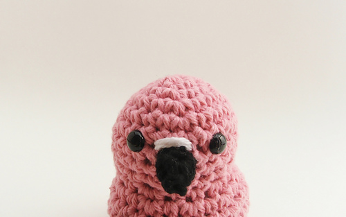 Ravelry Amigurumi Flamingo Pattern By Littlebittyknitter Designs